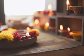Massaggio con candele