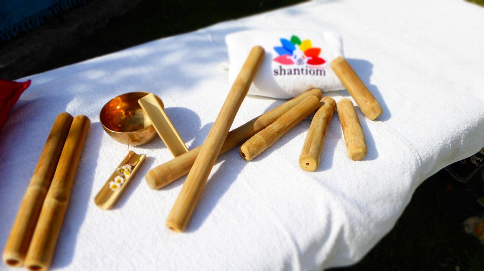 Bamboo massage: scioglimento, drenaggio e riequilibrio